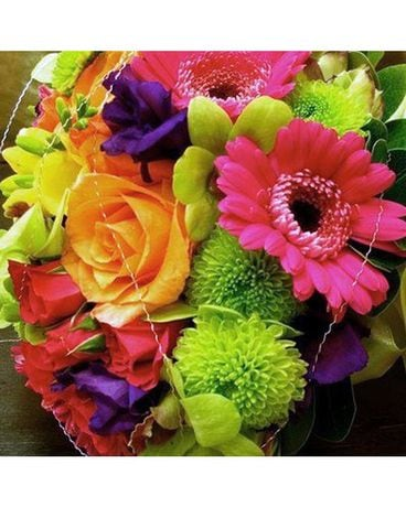 Citrus Bliss Flower Arrangement