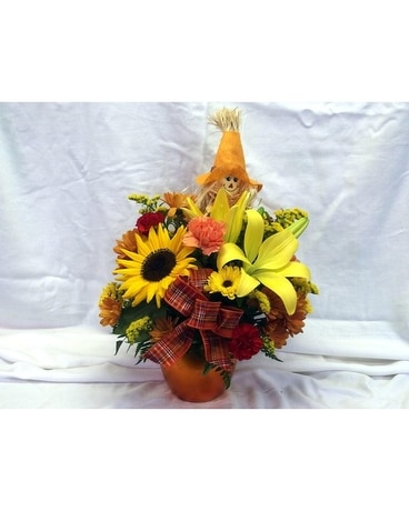 Happy Harvest Flower Arrangement