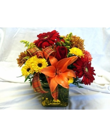 Autumn Blessings Flower Arrangement