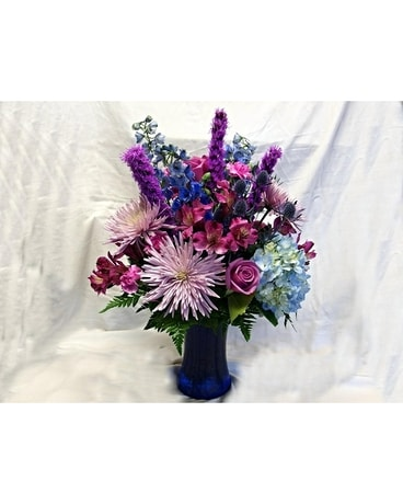 Lovely Lavender Flower Arrangement