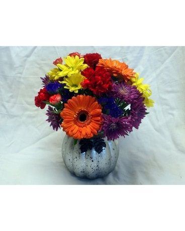 Pumpkin Party Flower Arrangement