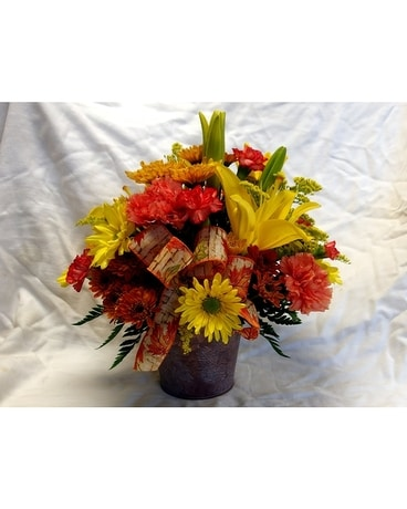 Amazing Autumn Flower Arrangement