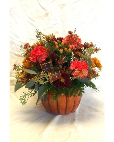 Pumpkin Spice and Everything Nice Flower Arrangement