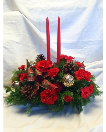 Christmas Traditions Centerpiece