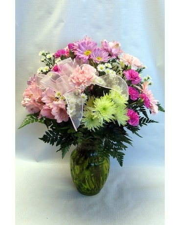 Perfectly Pastel Flower Arrangement