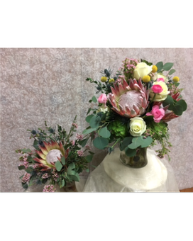 As Shown on Right Flower Arrangement