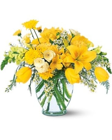 Sunshine Express Flower Arrangement