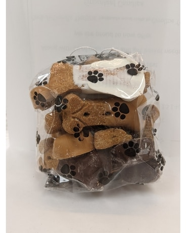 Bag of Small Dipped Dog Treats Gifts