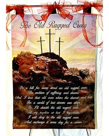 Old Rugged Cross Tapestry Gifts