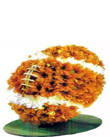 It's Football Time Flower Arrangement