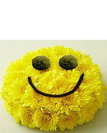 Put on a Happy Face Flower Arrangement