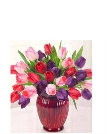 Love of Tulips Flower Arrangement