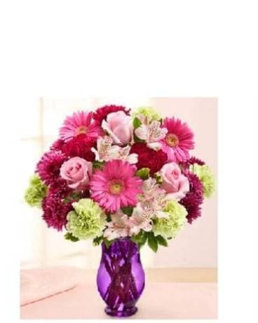 Fun and Flirty Flower Arrangement