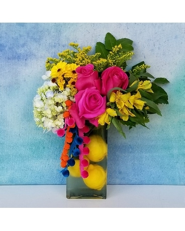 Slice of Summer Flower Arrangement