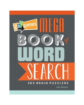 Mega Book of Word Search - Gifts