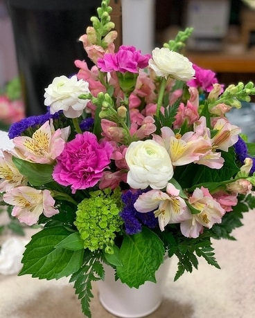 Custom 5 Flower Arrangement