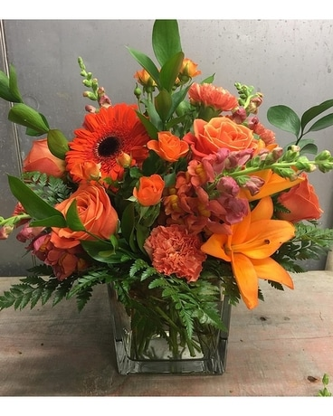 Custom 6 Flower Arrangement