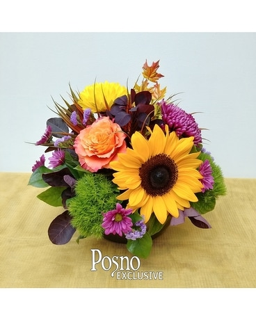 Harvest Medley Flower Arrangement