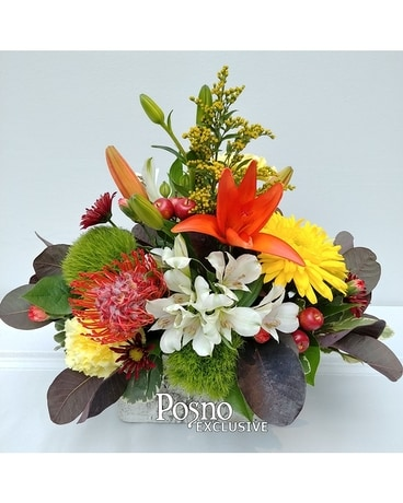 Naturally Fall Flower Arrangement