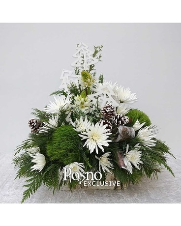 O'Christmas Tree Flower Arrangement