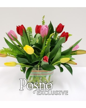 Just Tulips Flower Arrangement