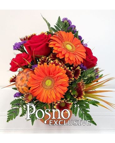 Perfectly Fall Flower Arrangement