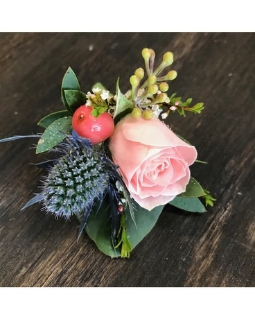Rosewater Boutonniere