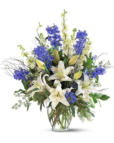 Sapphire Miracle Arrangement Custom product