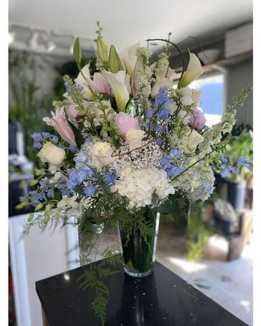 Blush Paradise Flower Arrangement