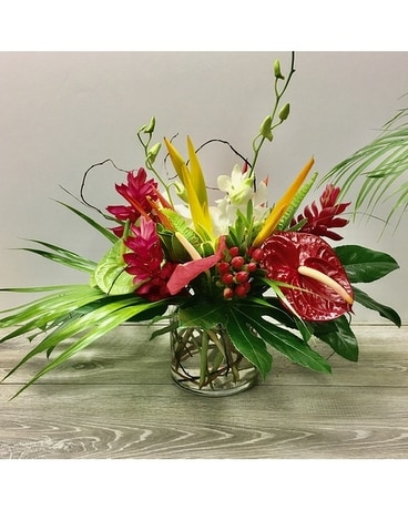 Exotic centerpiece Flower Arrangement
