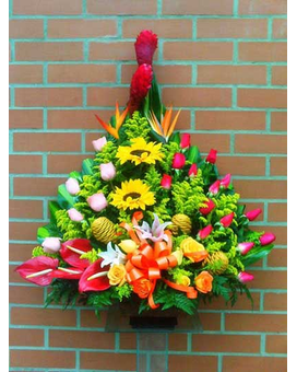 Smile Forever Flower Arrangement