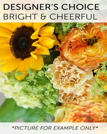 Designer's Choice - Bright & Cheerful Flower Arrangement