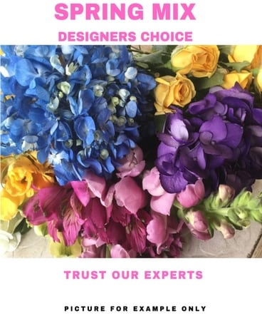 Designer's Choice - Spring Mix Flower Arrangement