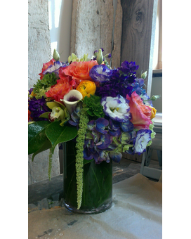 Purple Rain Flower Arrangement