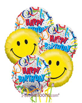 Quick View Happy Birthday Smiles Balloons