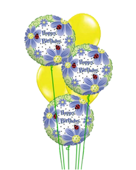 Quick View Birthday Brights Balloons