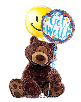 Medium Get Well Teddy Bear