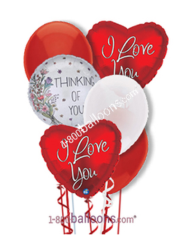 Thoughts of Love Balloons