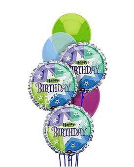 Quick View Delightful Birthday Balloons