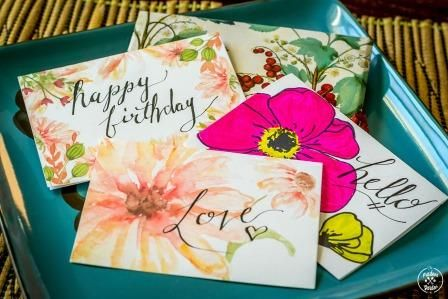 Hand Written Greeting Card