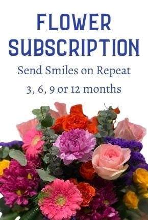 Flower Subscription by Monday Morning Flowers
