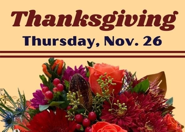 Thanksgiving Flowers for delivery for Princeton New Jersey