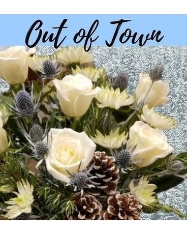 Out of Town - Holiday Flower Arrangement
