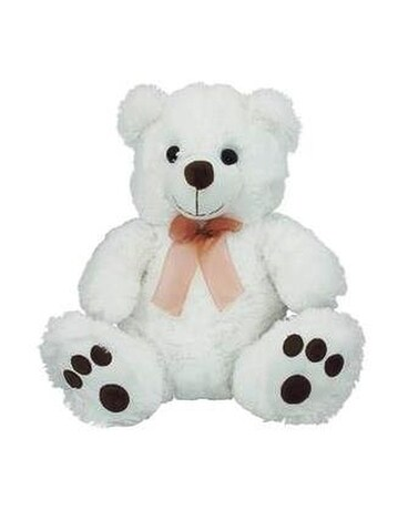 White Bear with Brown Paws Gifts