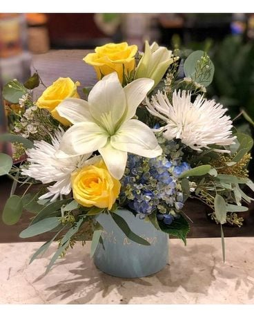 Monday Morning Flowers Welcome Baby Flower Arrangements