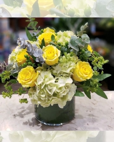 Lemoncello Flower Arrangement