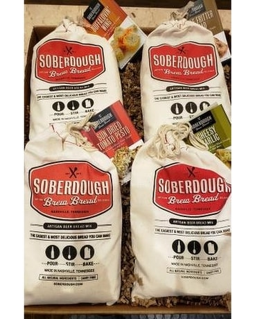 Soberdough Bread Kit Gift Basket
