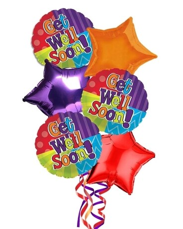 Get Well Balloons Gifts