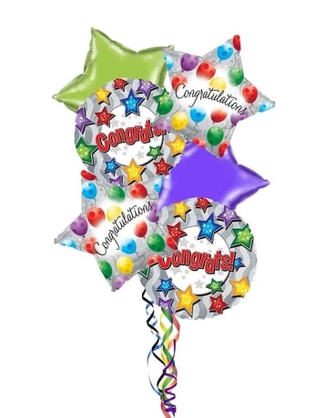 Congratulations Balloon Bouquet Gifts
