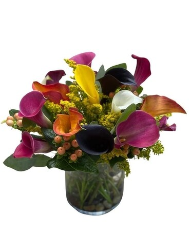 Calla Lily Creation Flower Arrangement